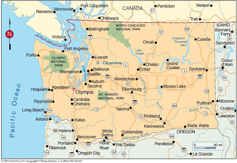 Nimavenl Nicoles Random Ramblings Map Of WA - Map of wa