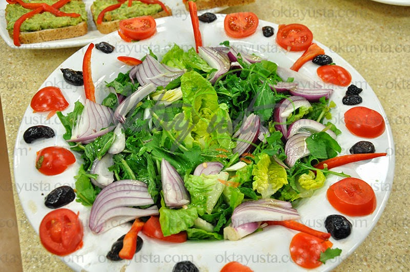 Roka Salatası Tarifi Videolu Anlatım