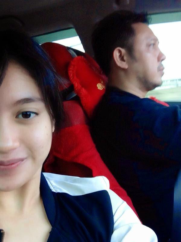 Foto Nabilah JKT48 Bersama Ayah Kandungnya