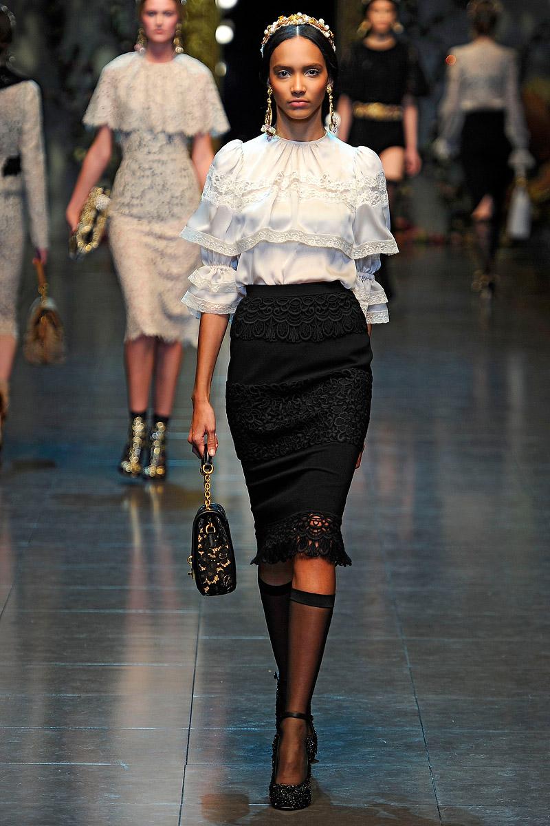 FASHION PEOPLE Dolce Gabbana - Дольче Габбана