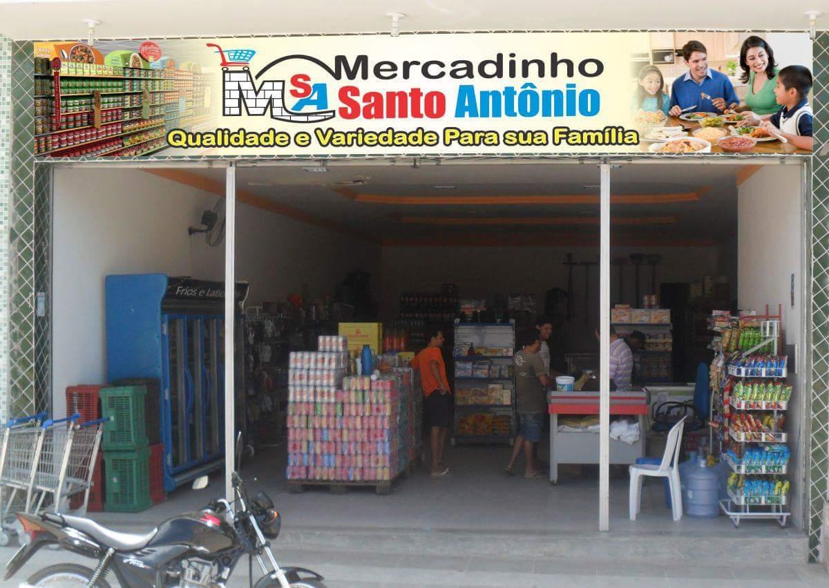 Na Hora de fazer a sua feira vá direto ao Mercadinho Santo Antônio