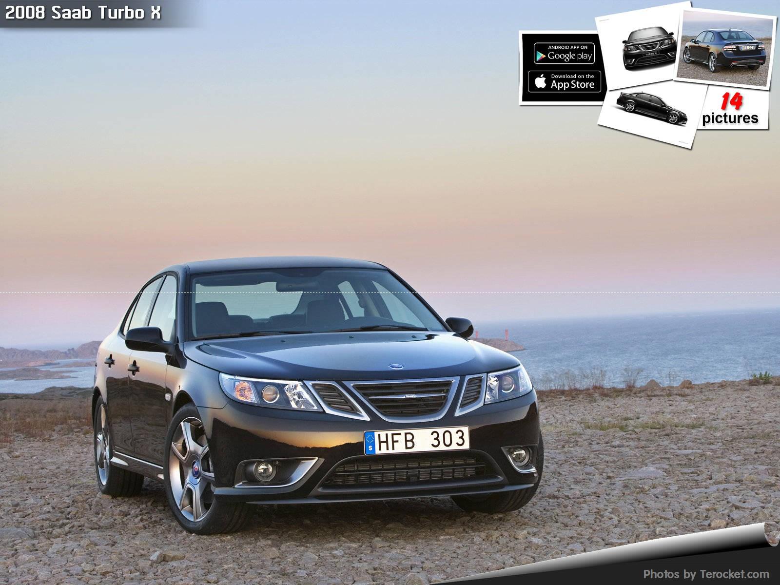 Hình ảnh xe ô tô Saab Turbo X 2008 & nội ngoại thất