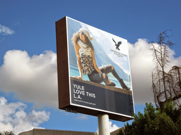 American Eagle Outfitters Yule love this LA billboard