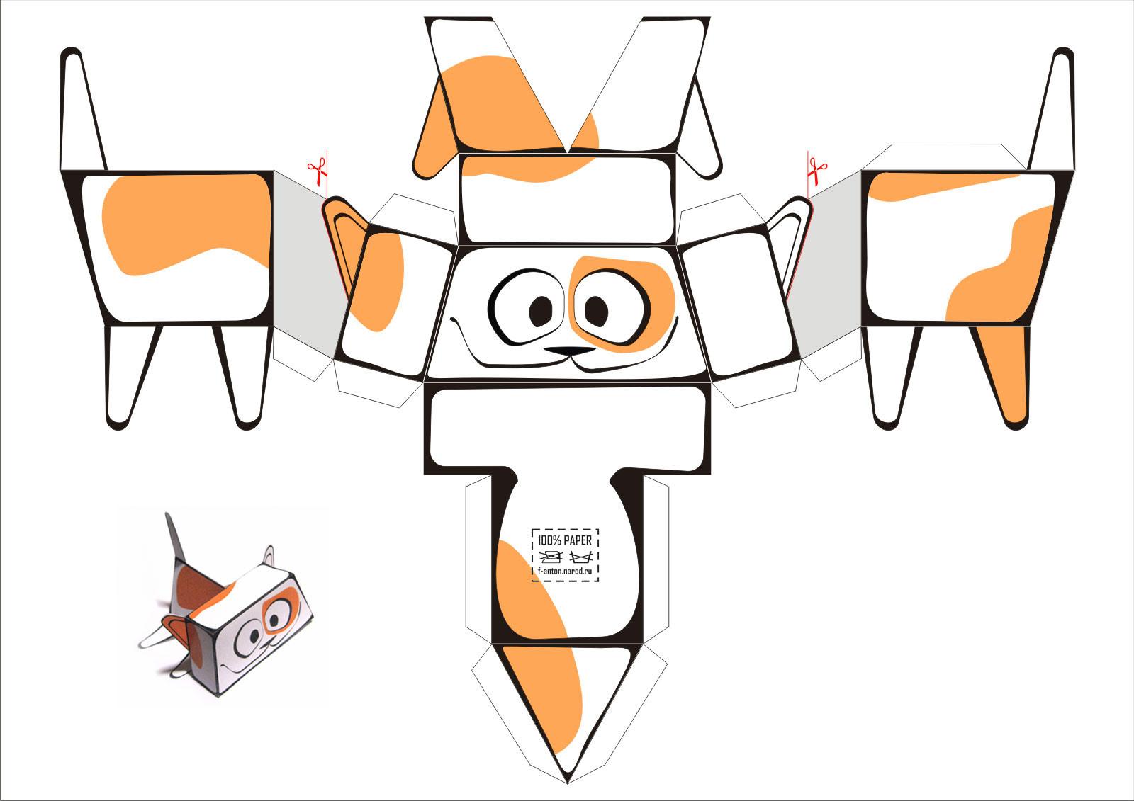 Как сделать из бумаги черепашек ниндзя инструкция