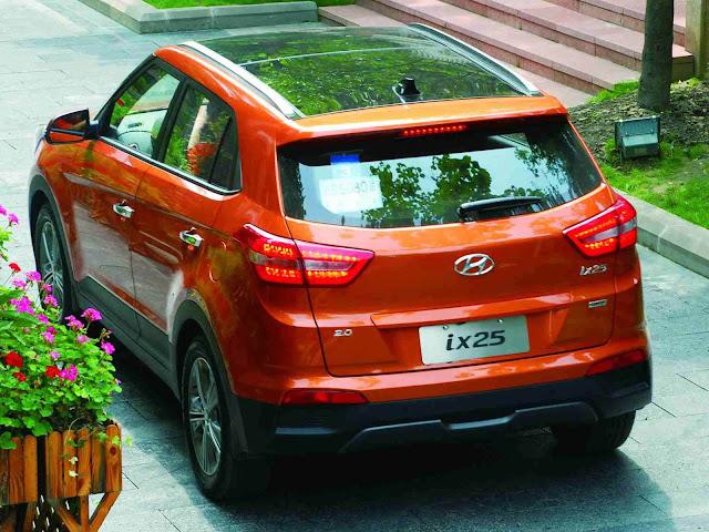 Hyundai HB20 SUV - ix25 - Brasil