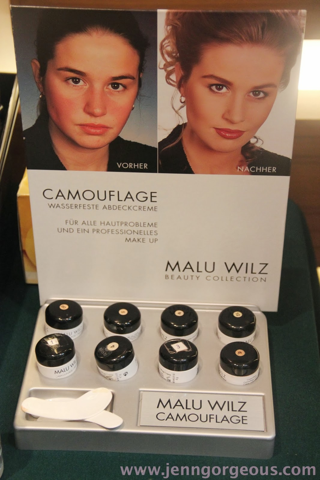 malu wilz makeup and skincare products event jenngorgeous. Black Bedroom Furniture Sets. Home Design Ideas