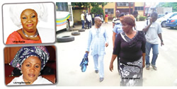 WOMAN IMPERSONATES FASHOLA'S WIFE;DUPES GOVERNMENT Woman+Impersonates+Fashola+wife