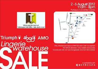 Triumph Lingerie Warehouse Sale 2012