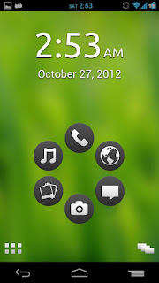 smart launcher green screen