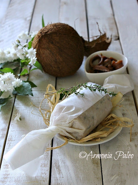 Burro di Cocco alle Acciughe di Armonia Paleo