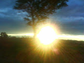 Por do sol em Pintópolis: Minha cidade
