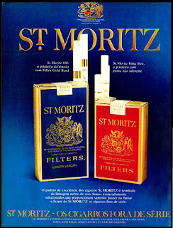 cigarros St. Moritz, 1973, propaganda anos 70; história decada de 70; reclame anos 70; propaganda cigarros anos 70. Brazil in the 70s; Oswaldo Hernandez;