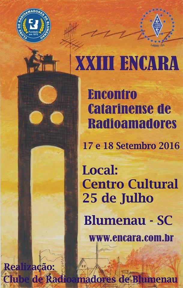 XXIII ENCARA - SANTA CATARINA