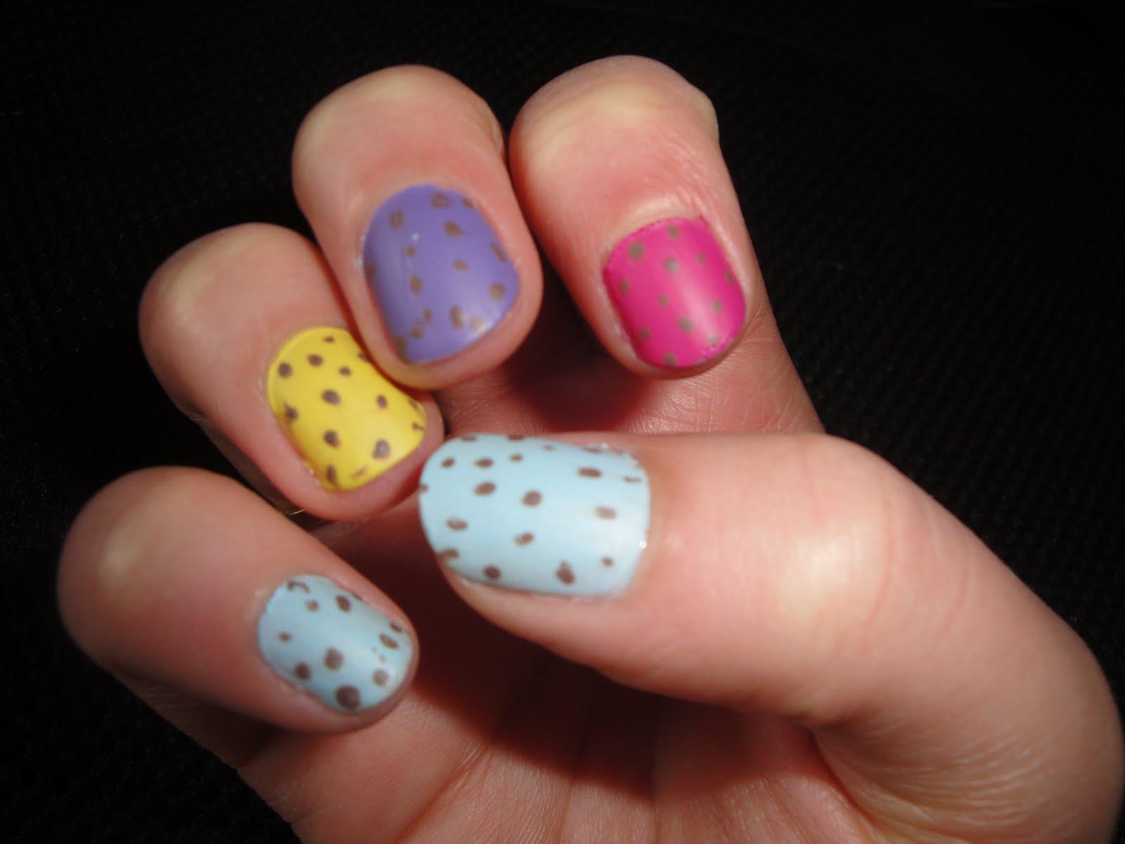Easter Mini Egg Nail Art