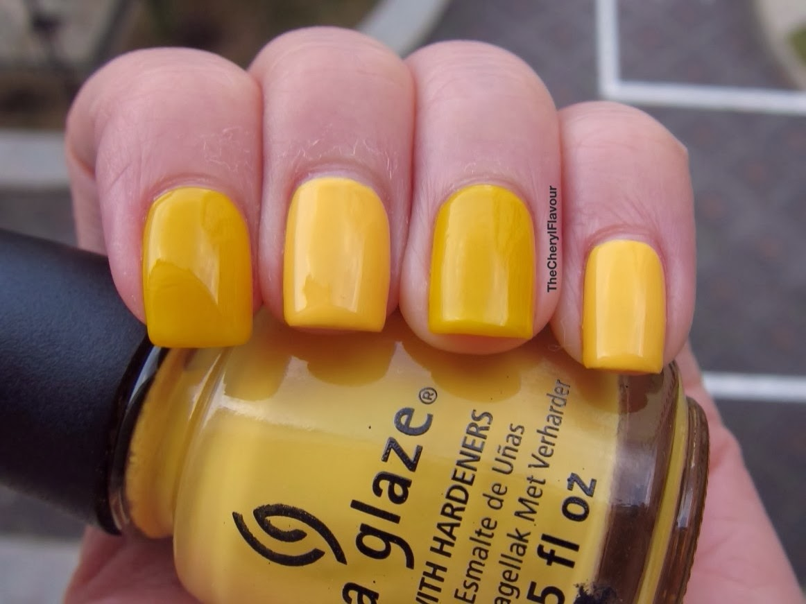 China Glaze Metro Pollen-Tin vs OPI Need Sunglasses?