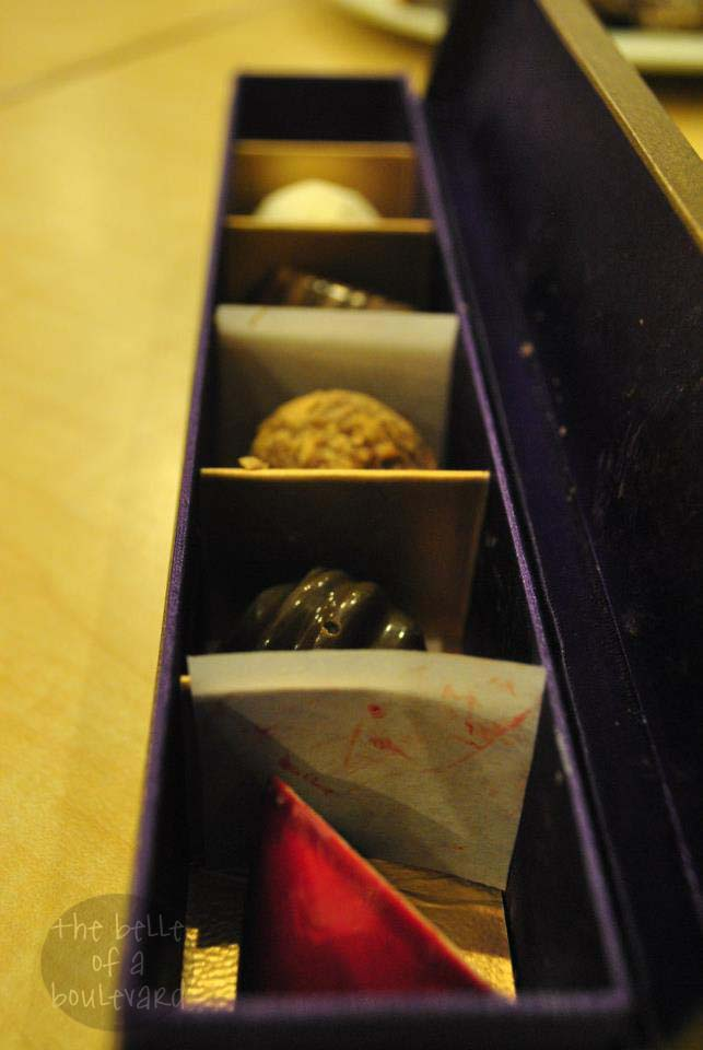 Pralines from Sinfully Circles by Makati Shangri-la