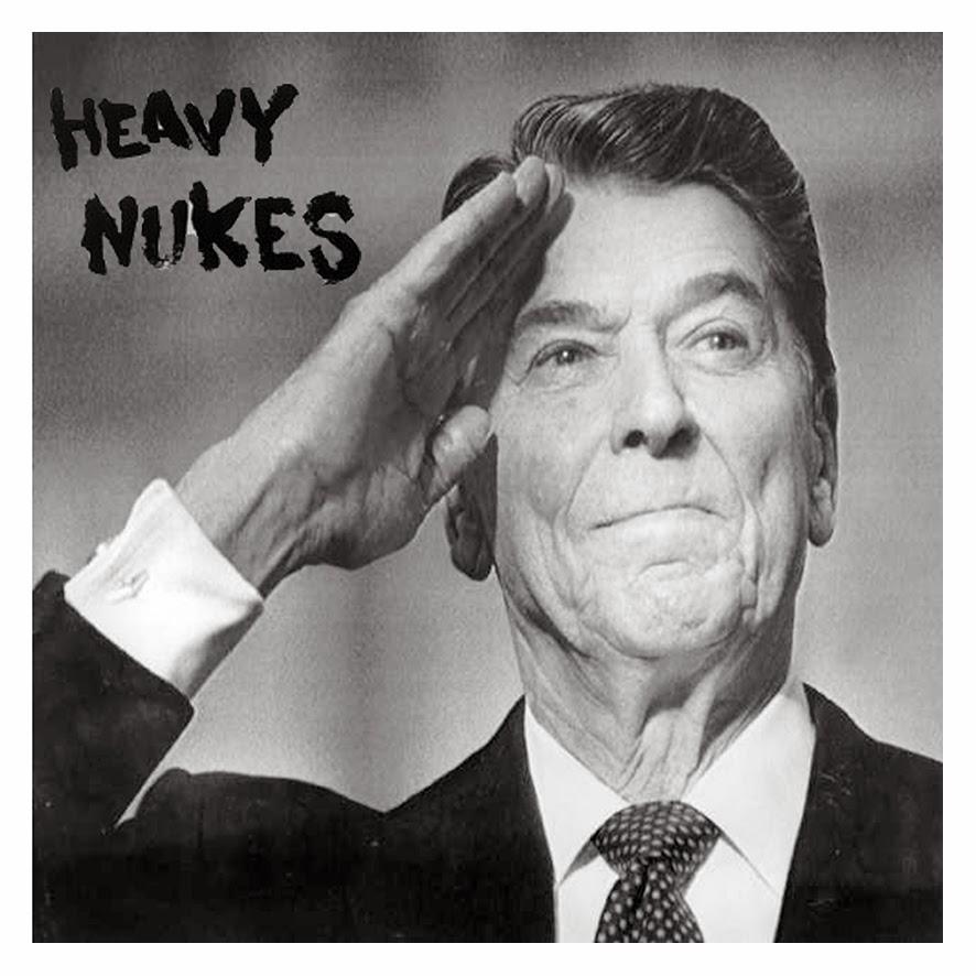 HEAVY NUKES - new ep  12inch