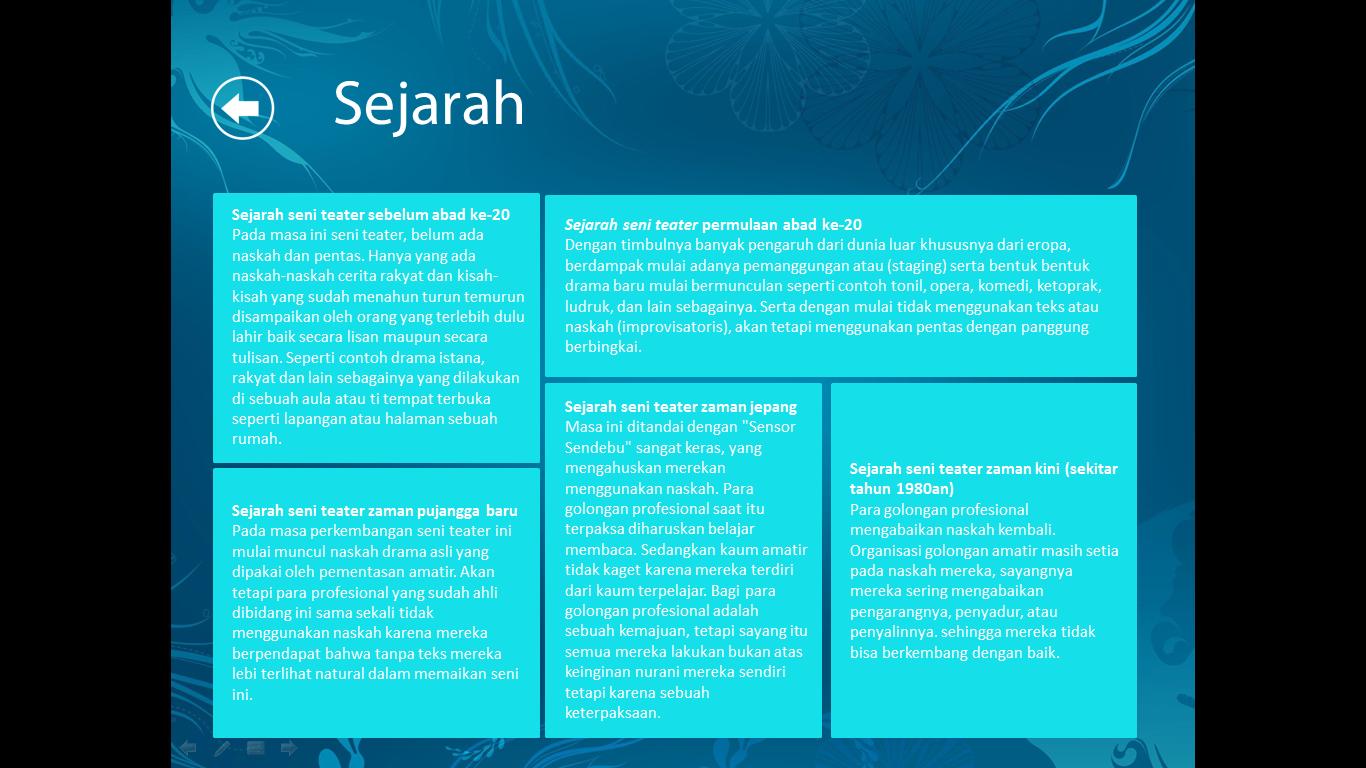 Template Project Windows 8 Untuk Power Point