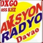 Aksyon Radyo Davao DXGO 855 KHz logo