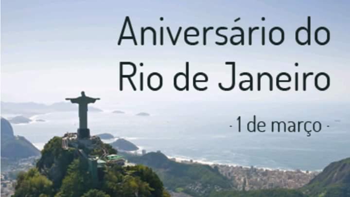 Rio fez aniversário
