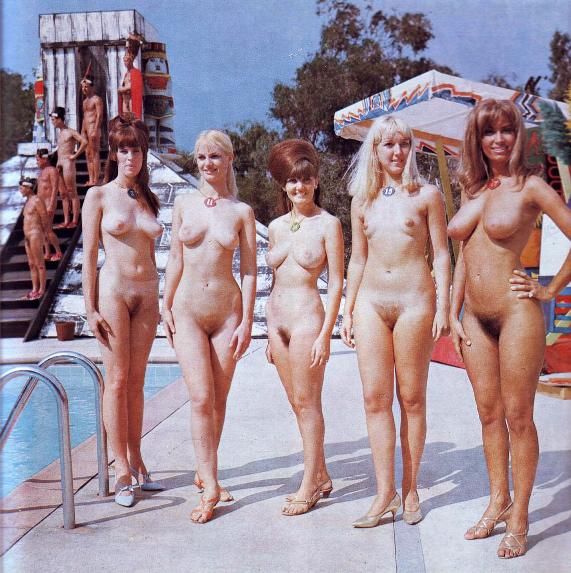 vintage nudism contests