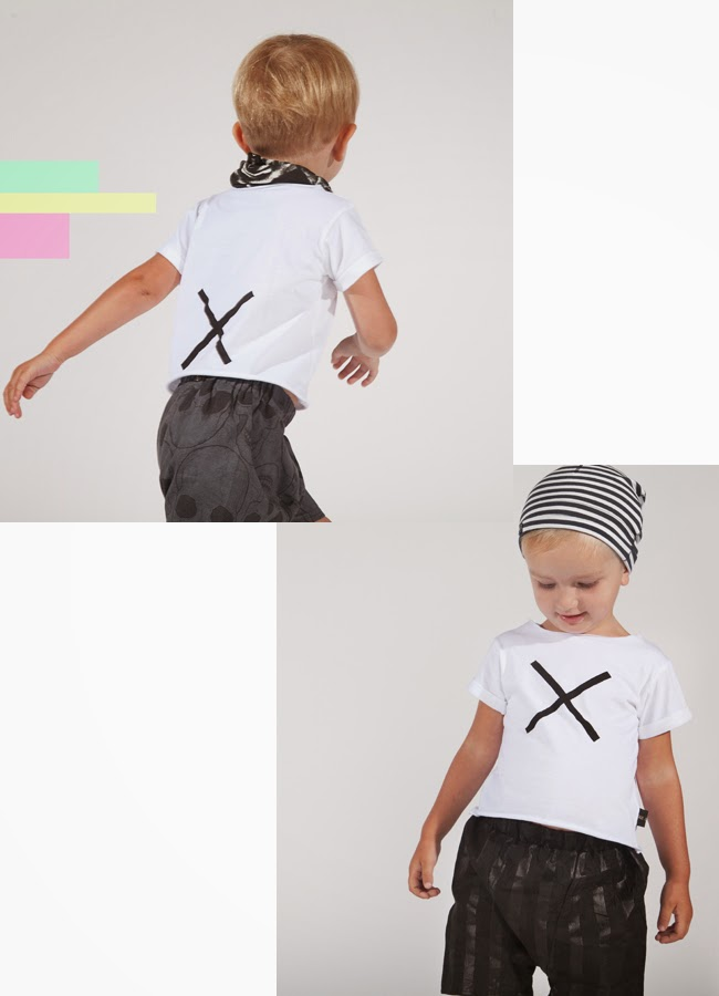 Tale of Boy edgy kids style from UK - cross tee