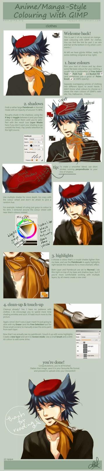 Tutorial How To Drawing Manga and Anime