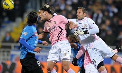Novara Palermo 2-2 highlights