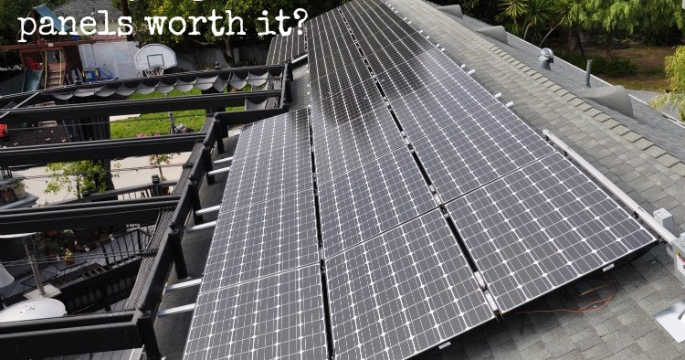 Update On Our Energy Saving Solar Panels Organizing