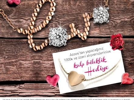 14 Şubat'ın En Işıltılı Sürprizi; Love Kolye!
