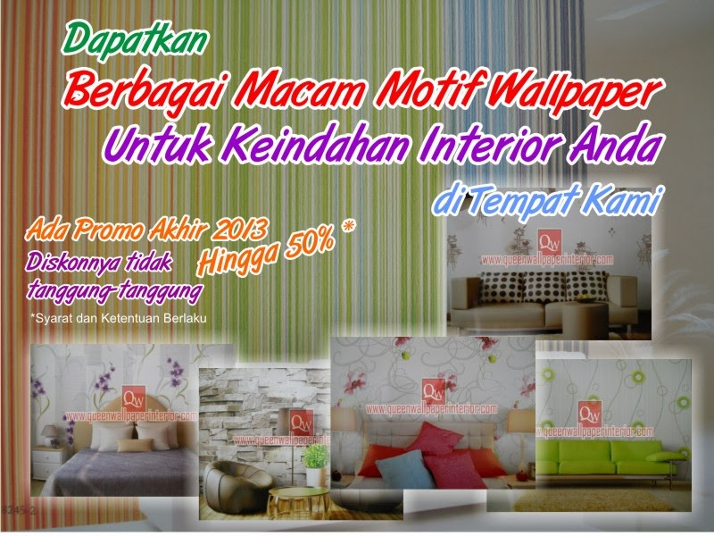 Toko bagus hiasan interior rumah home design idea for Wallpaper home murah