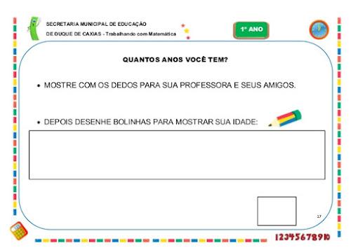 Caderno de Atividades Pedagógicas Para o 1ºAno