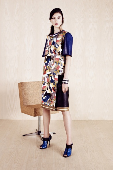 Fendi Lookbook. Pre-spring 2014