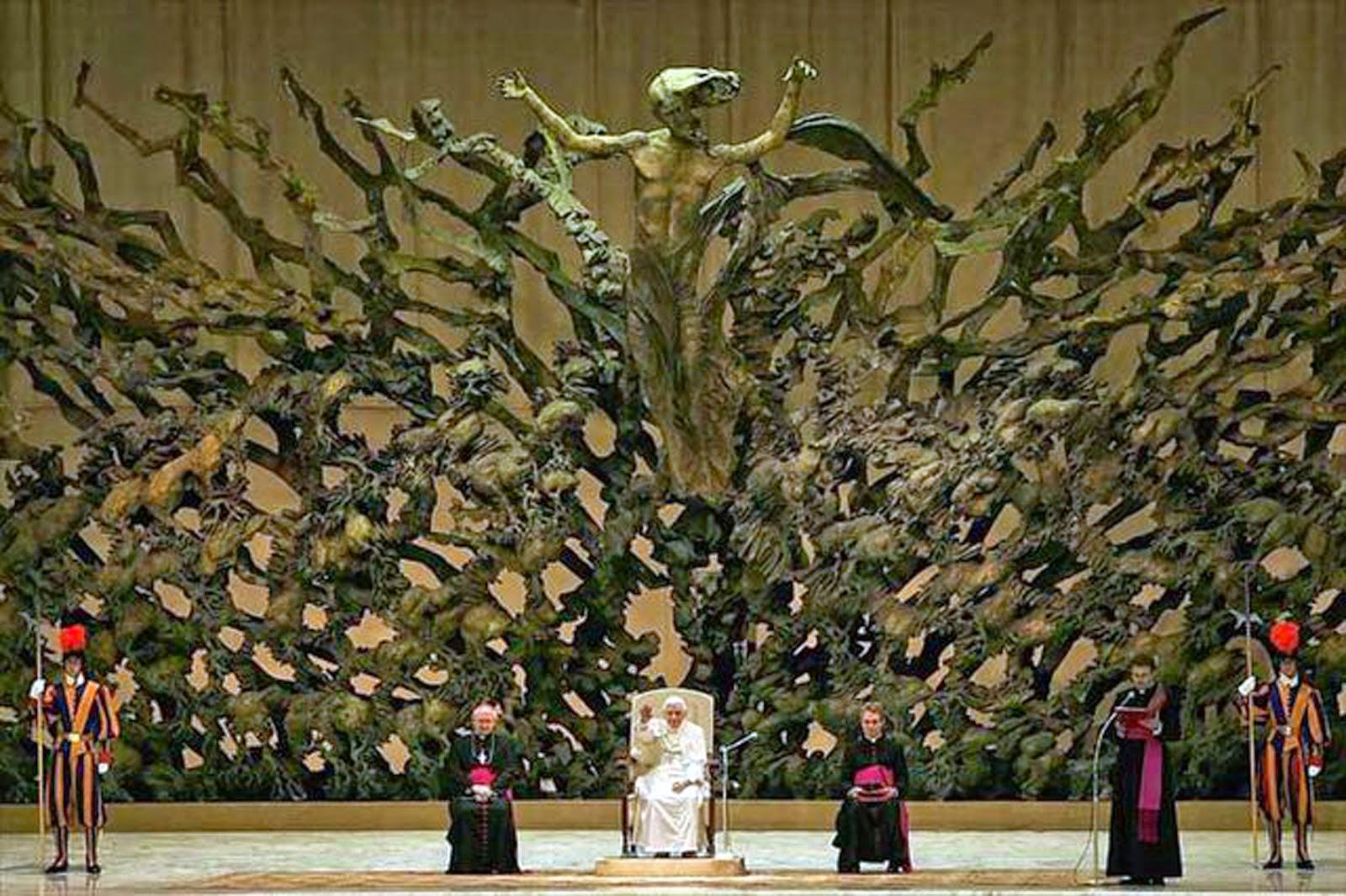 Satan au vatican le pouvoir mondial aux peuples - Les beatitudes une secte aux portes du vatican ...