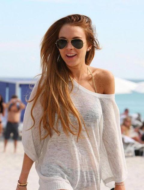 Lindsay Lohan sin photoshop - Cine