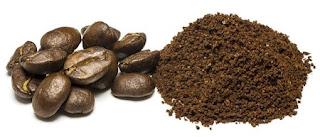 scrub con caffè