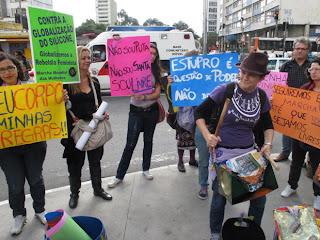 Marcha das Vadias em São Paulo