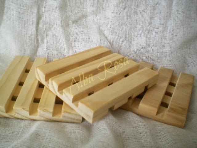 Pine Soap Rack - Alba  Rosa