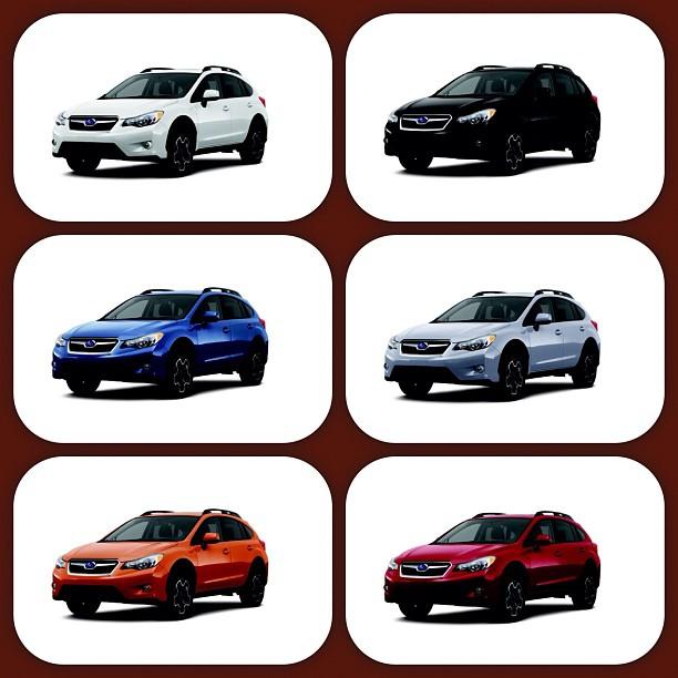 Subanews By Burlington Subaru 2013 Subaru Xv Crosstrek Colors