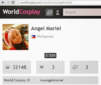 Follow me on World Cosplay