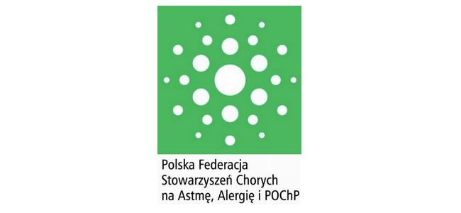 Logo Polskiej Federacji Stowarzyszeń Chorych na Astmę, Alergię i POChP