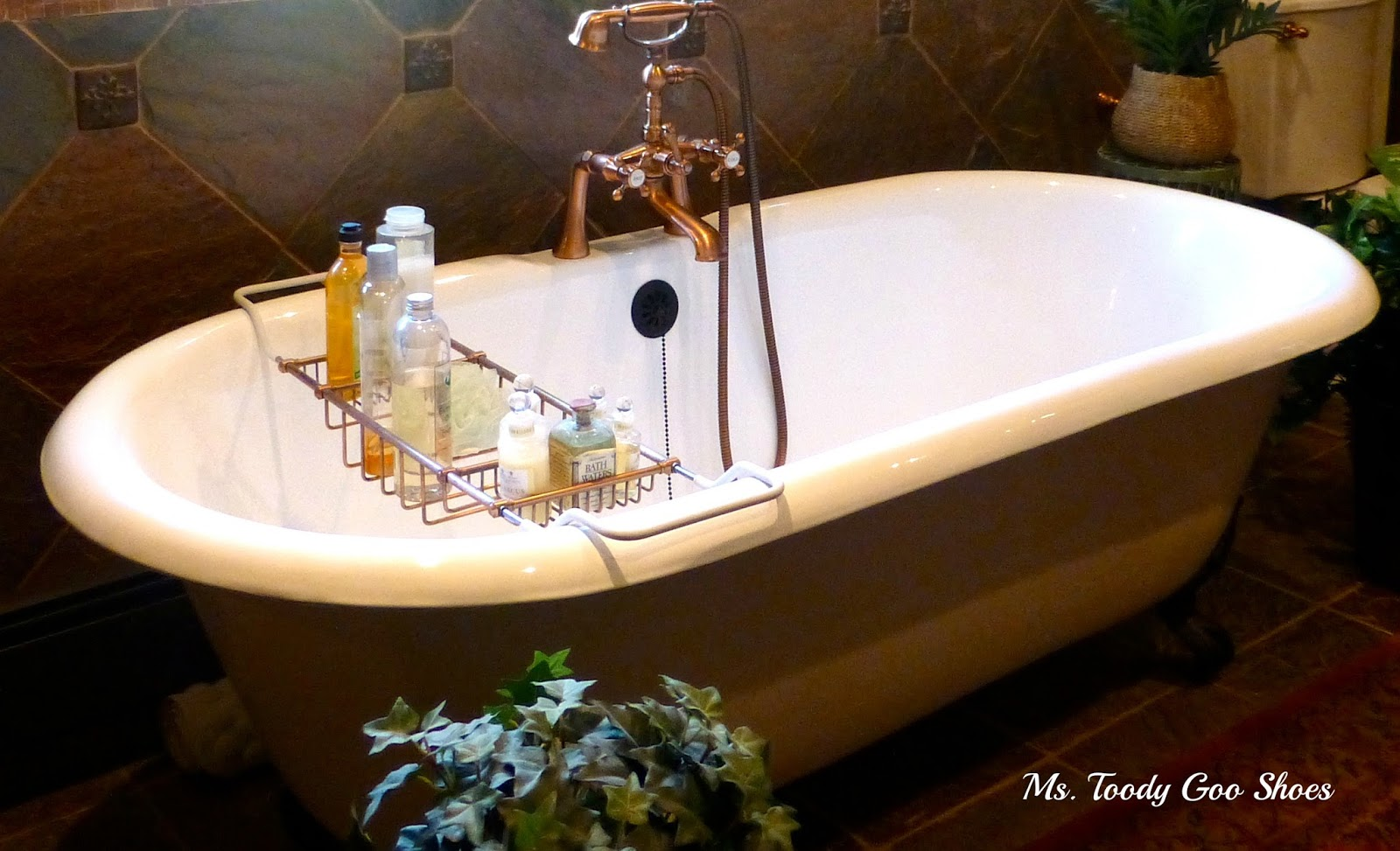 The Master Bath    By Ms. Toody Goo Shoes