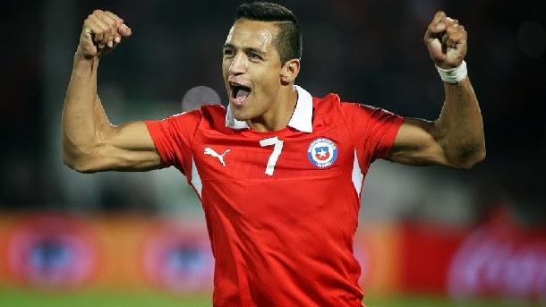 El azulgrana es la gran estrella de Chile para el Mundial 2014