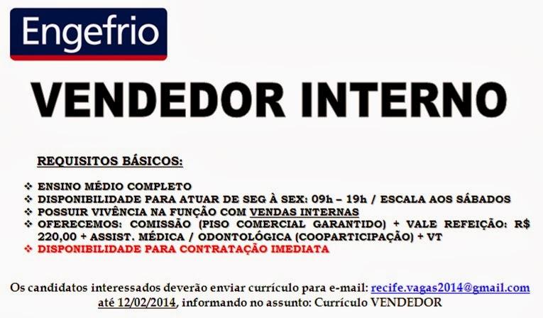 Informe Vagas Brasil Blog Empregos Engefrio Contrata