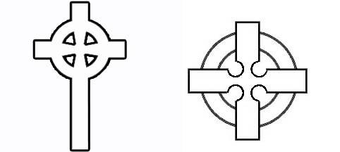 H raldie la croix en h raldique - Le bureau croix blanche ...