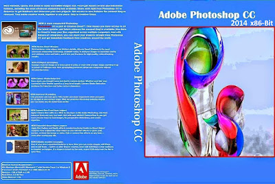 Adobe Photoshop CC 2014 x86-Bit (x32) DVD Capa