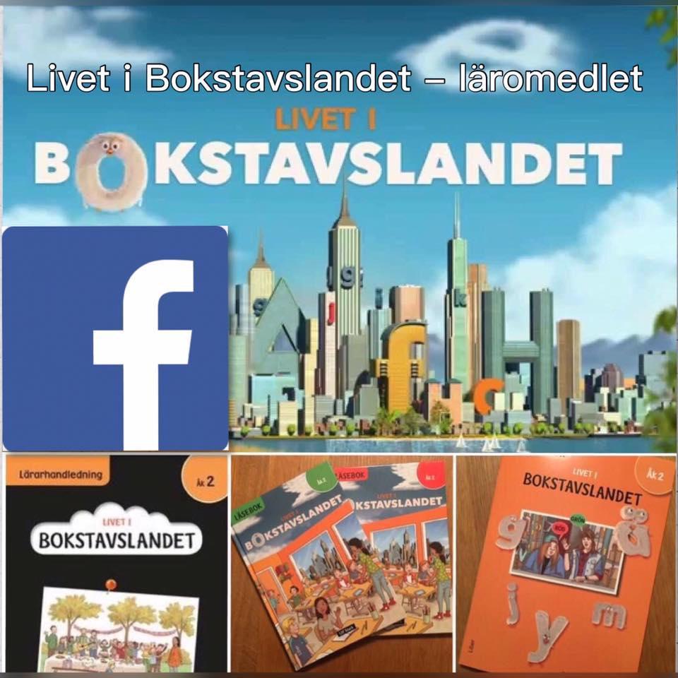 Livet i Bokstavslandet på Facebook