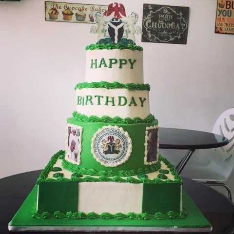 Photos: Check out President Buhari's 73rd birthday cakes