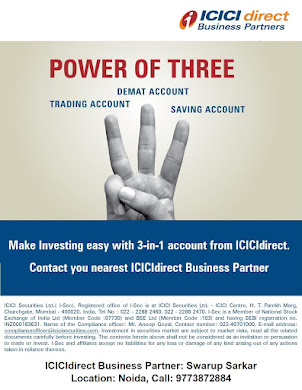 Open FREE ICICIdirect Online Demate & Trading Account in 10 Min!