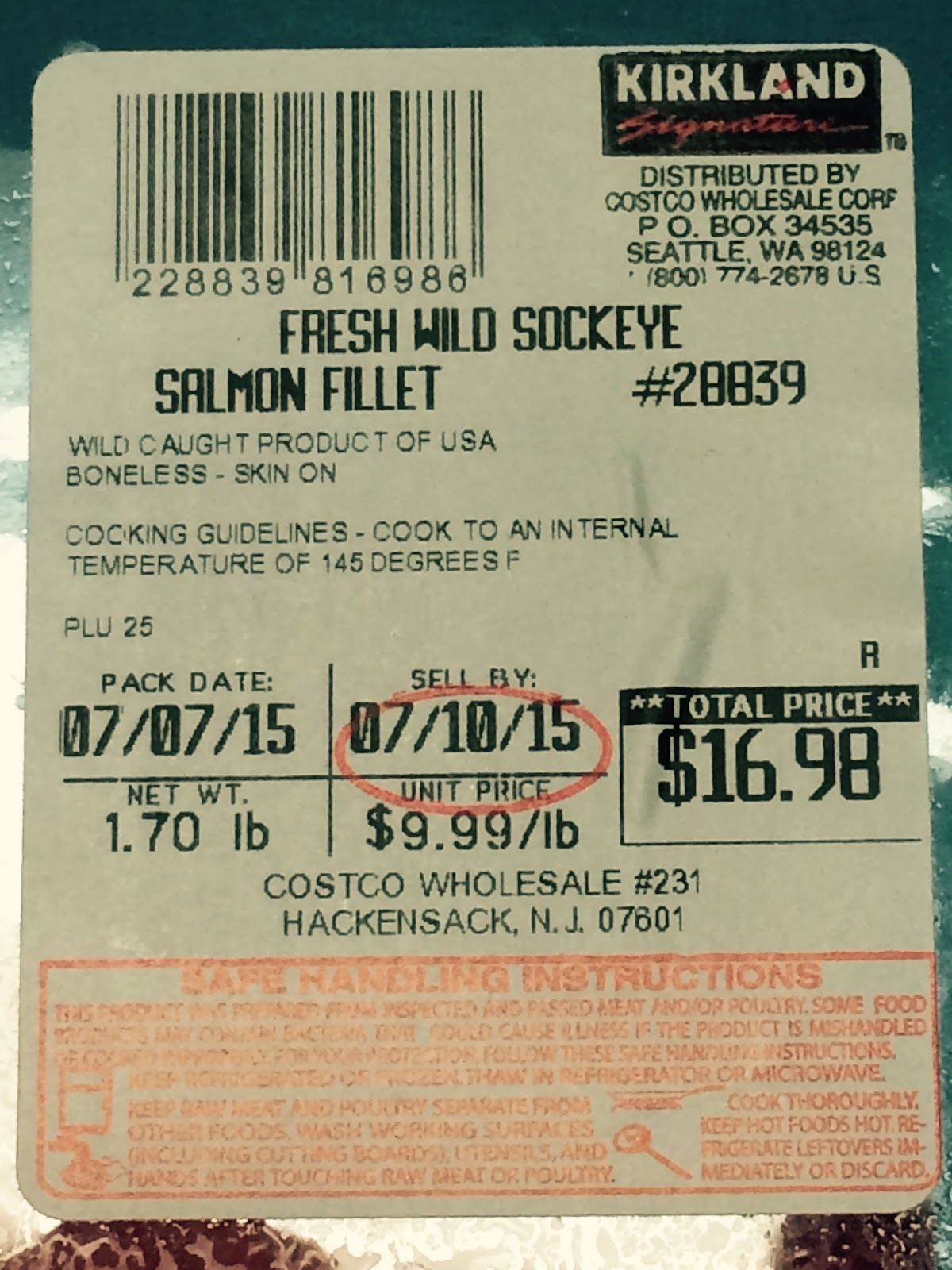do you really know what you re eating at costco whole price the price for wild sockeye salmon at costco whole in hackensack dropped to 9 99 a pound this week from 13 99 a pound on 23